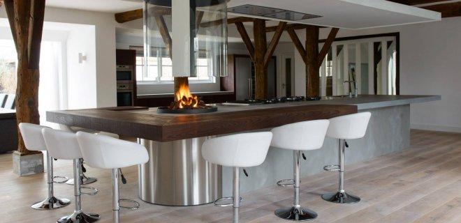 Moderne houten keukens van JP Walker