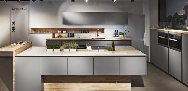 Poggenpohl creëert variatie door keukenfronten