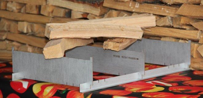 Uniek stookrooster voor houthaarden van Winox