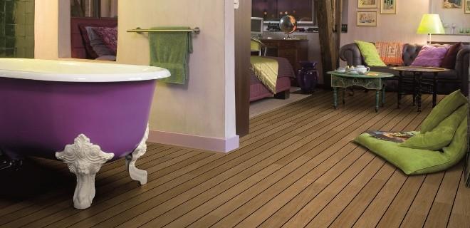 Laminaat badkamervloeren met houtlook van Quick-Step - Nieuws ...