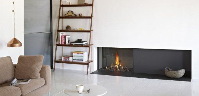 Een gashaard van tulp voor elk interieur nieuws - Interieur moderne inspirant piliers en beton ...