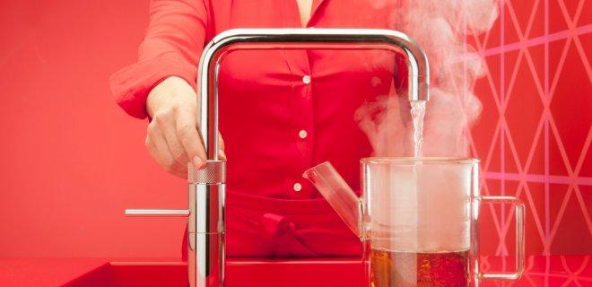 Warm, koud en kokend water uit één kraan: de Fusion