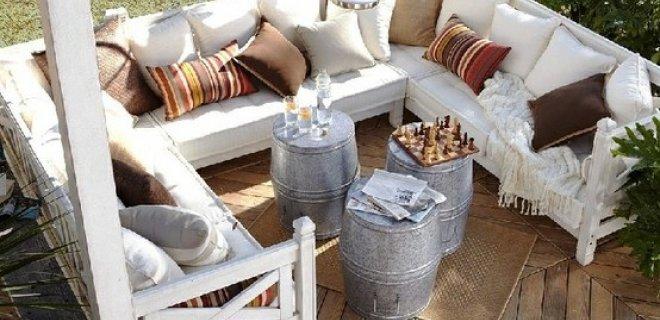 Een warm terras met magnum - Tuin marokkaans terras ...
