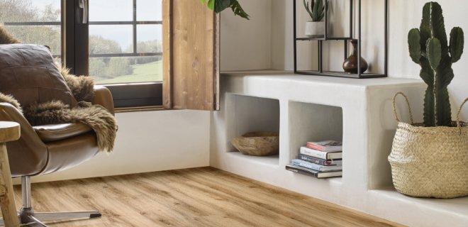 Onderhoudsvrije vinyl vloeren met houtdessin