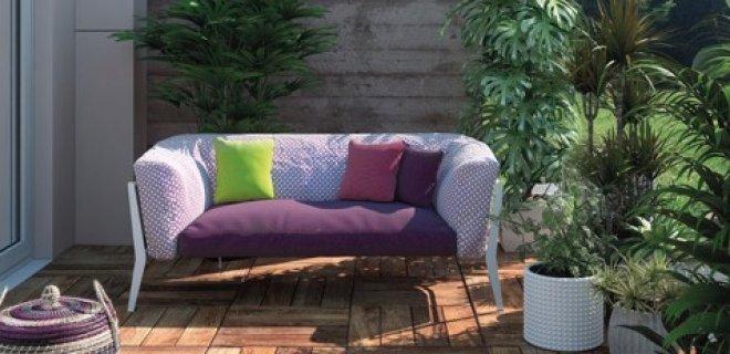 Outdoor sofa Clea voor klein & groot terras