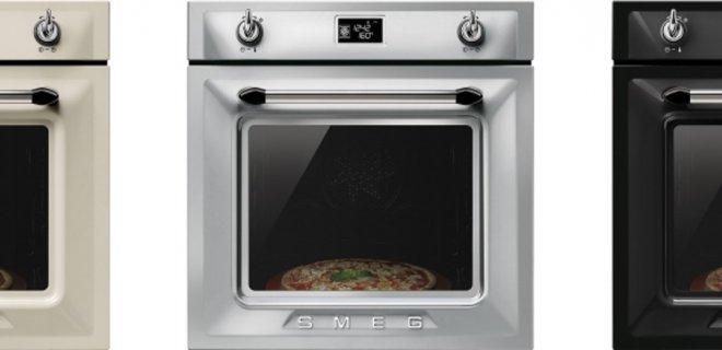 Pizza's bakken met de nieuwe ovens van Smeg