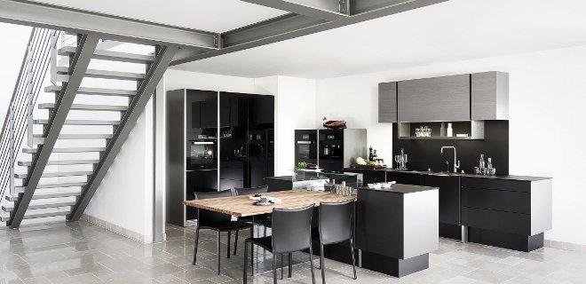 De nieuwe Poggenpohl keuken P`7350 design by Porsche
