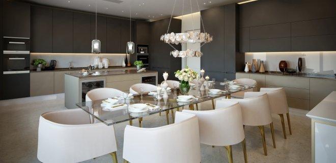 Schitterende keukens in luxe appartementen in Londen