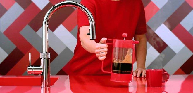 Quooker Flex: de kokendwaterkraan met flexibele uittrekslang