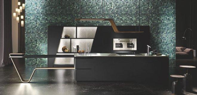Snaidero Vision: zwarte keuken met sensationeel design