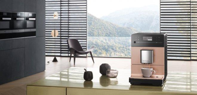 Sneakpreview: nieuwe CM5 koffieautomaat van Miele