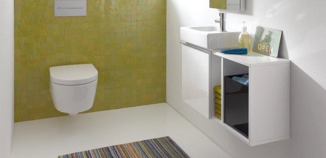 Geberit iCon: stijlvolle meubels voor toiletruimte