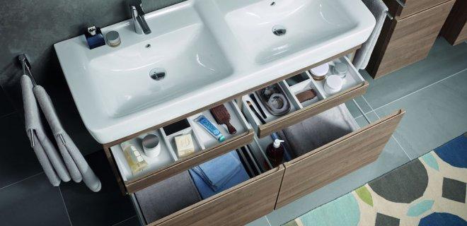 Geberit badkamermeubels: opbergcomfort met stijl