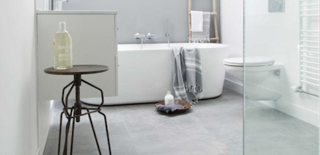 Praktische & stijlvolle vloeren voor de badkamer