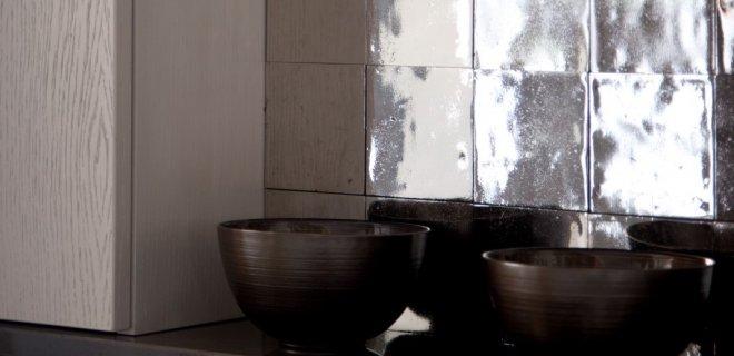 Metalen tegels voor een uniek interieur