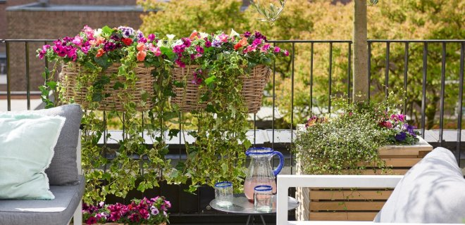 Terras- en balkon tips & trends