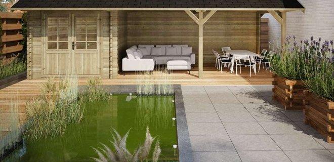 Ideeëen voor het inrichten van tuin en terras: buiten leven alsof je binnen bent