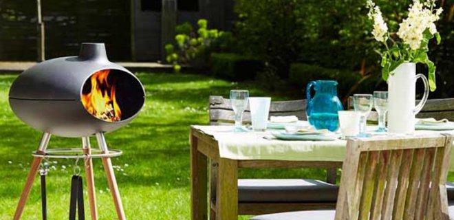 Tuinhaard en BBQ ineen: buiten koken & genieten