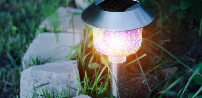 Tuinverlichting plaatsen