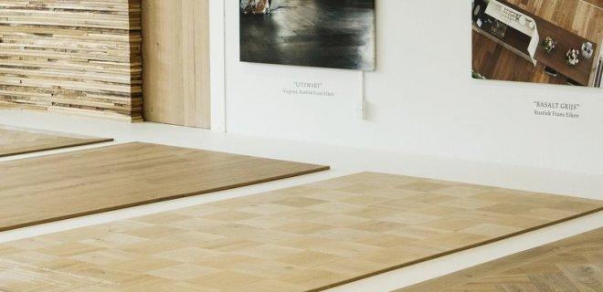 Eiken houten tegels van Uipkes