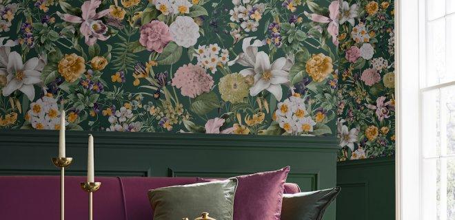 Verander je interieur in een bloemenparadijs