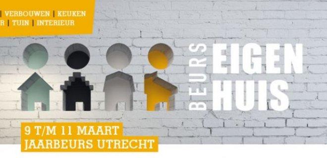 Verbouwen of verhuizen? Bezoek de Beurs Eigen Huis in maart!