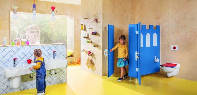 Villeroy & Boch O.novo kindvriendelijke badkamer