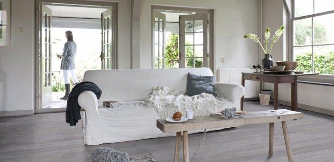 Vloeren voor een landelijk interieur