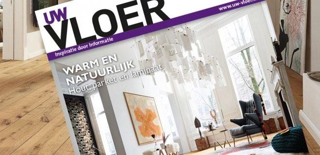 Vloerentrends & informatie in magazine UW Vloer 2016