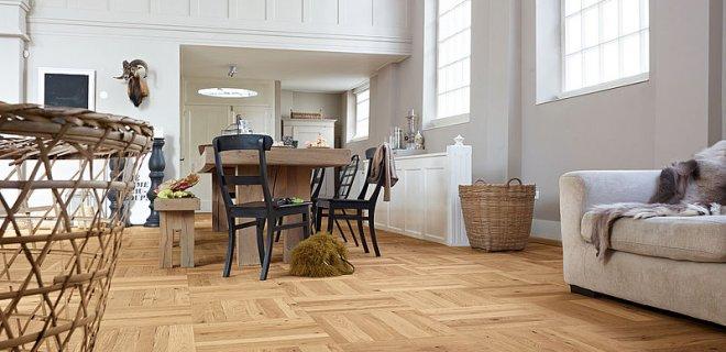 Vloerverwarming onder houten vloeren