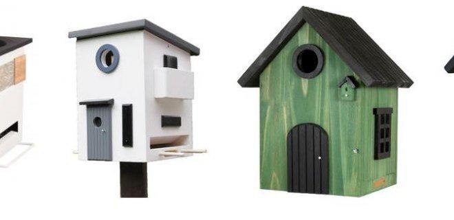 Vogelhuisjes voor hippe vogels