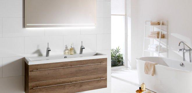 Voorbeelden van badkamermeubels: functioneel & stijlvol
