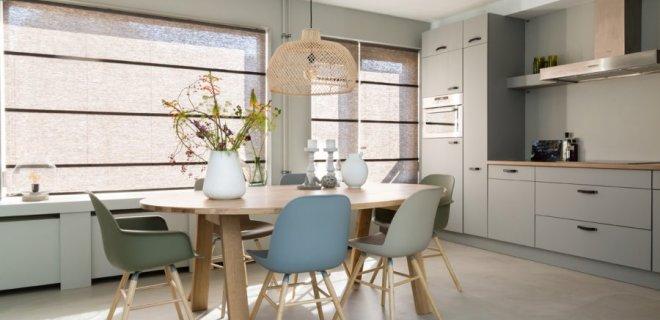 Heerlijk koel in huis met stijlvolle vouwgordijnen