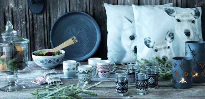 Warme winterse interieur accessoires van IKEA
