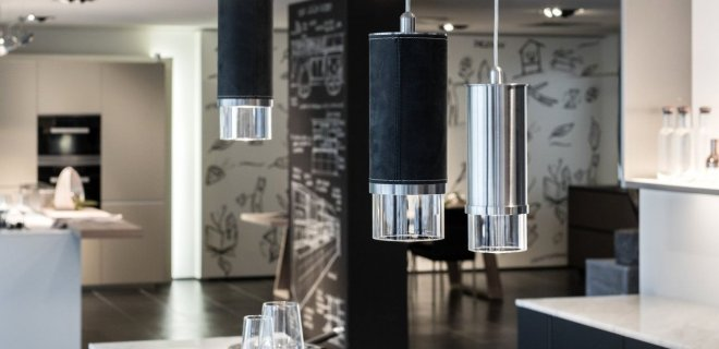 Wave design verlichting voor de keuken