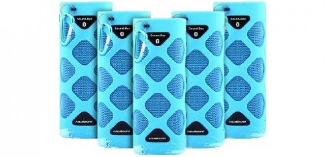 Bluetooth Sound-Box voor de badkamer!