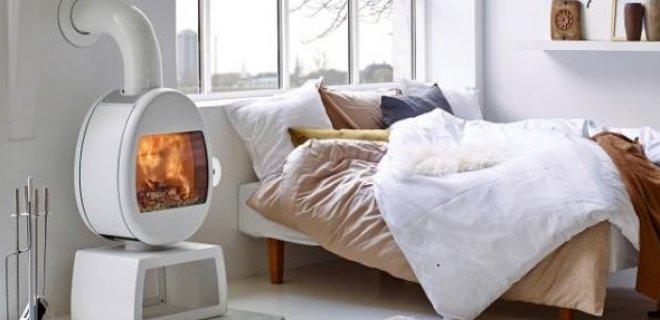 Witte houtkachels uit Scandinavië