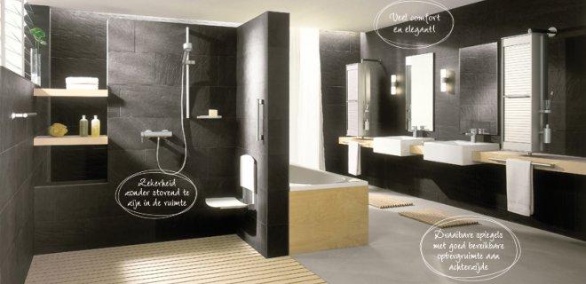 Langer zelfstandig thuis wonen met een aangepaste badkamer nieuws startpagina voor badkamer - Mooie moderne badkamer ...