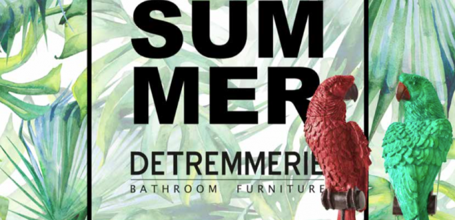 Trendy zomercollectie voor de badkamer