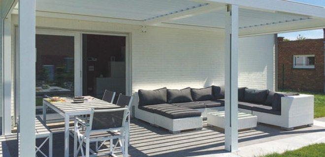 Zonnescherm of terrasoverkapping voor optimaal comfort