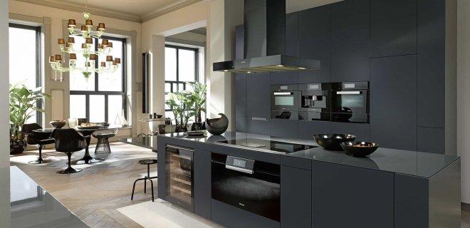 Zwarte keukens: voorbeelden van keukenstijlen