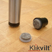 Floorfriendly doppen en glijders v.v. VILT