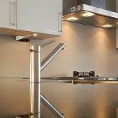 Bokmerk luxe aluminium achterwanden