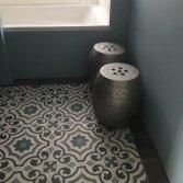 FLOORZ-Portugese tegels Agadir in de badkamer