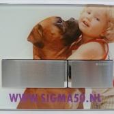 Geberit Sigma50 bedieningsplaat