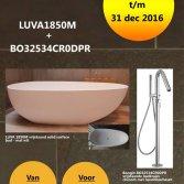 LUVA 1850 vrijstaand bad