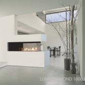 M-Design gashaard roomdivider Luna Diamond 1000RD-1300RD
