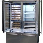 Smeg vrijstaande koelkast RF396RSIXE