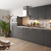 Superkeukens keuken Klee lak basalt
