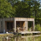 Poolhouse met luifel | A-tuinhuis